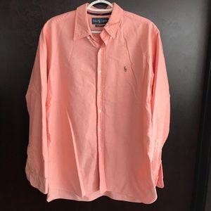 Mens Ralph Lauren Shirt - Classic Fit Large